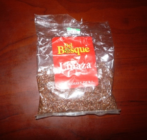Linaza is Spanish for Flax Seed