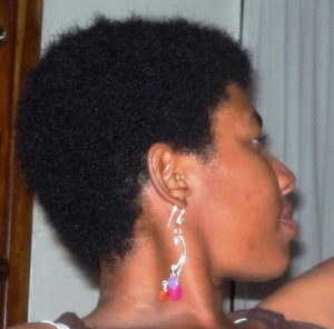 Side View - Natural Hair