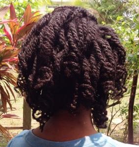 Curls in Back