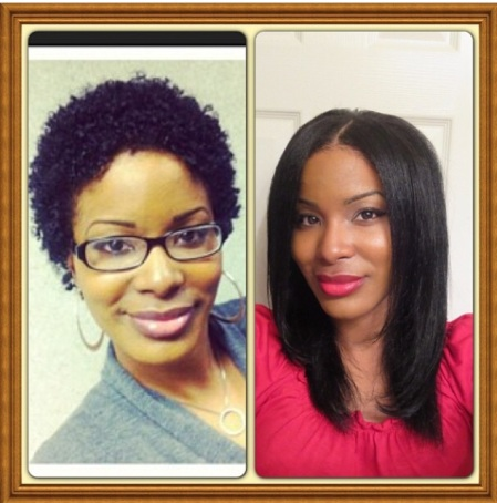 Big chop and 3yrs later