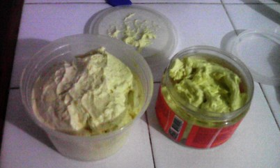 Fluffy Shea Butter Cream Using Yellow Shea Butter